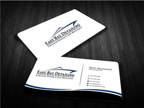 East bay detailing Business Cards and Stationery  Draft # 231 by Dawson