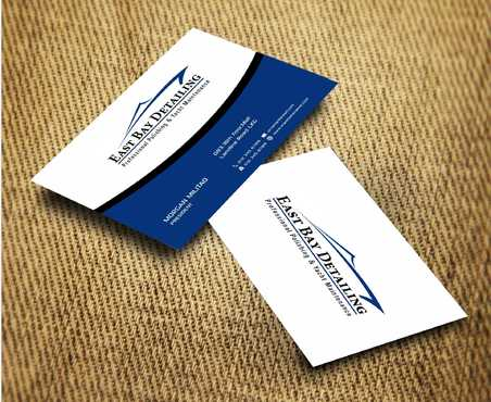 East bay detailing Business Cards and Stationery  Draft # 236 by Dawson