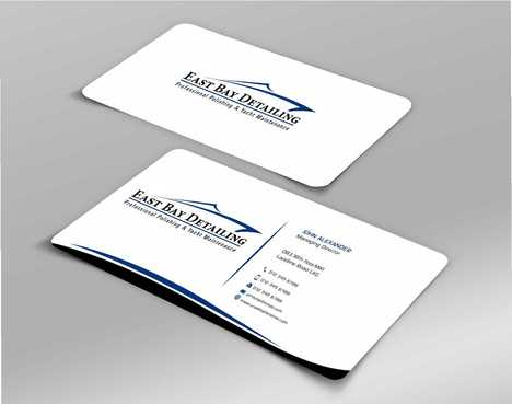 East bay detailing Business Cards and Stationery  Draft # 239 by Dawson