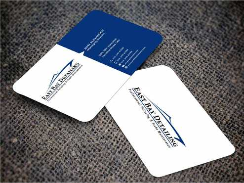 East bay detailing Business Cards and Stationery  Draft # 238 by Dawson