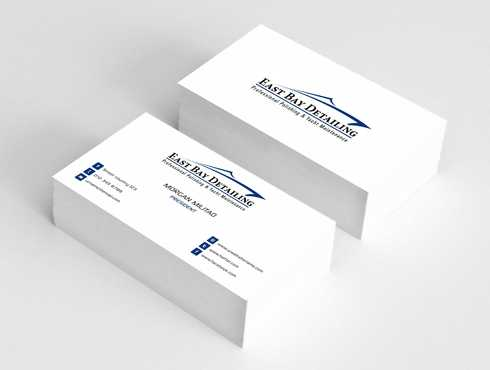 East bay detailing Business Cards and Stationery  Draft # 240 by Dawson