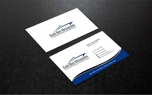 East bay detailing Business Cards and Stationery  Draft # 241 by Dawson