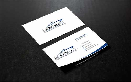 East bay detailing Business Cards and Stationery  Draft # 242 by Dawson