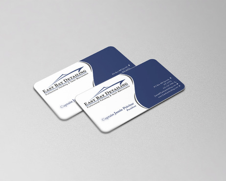 East bay detailing Business Cards and Stationery  Draft # 250 by cre8ivebrain
