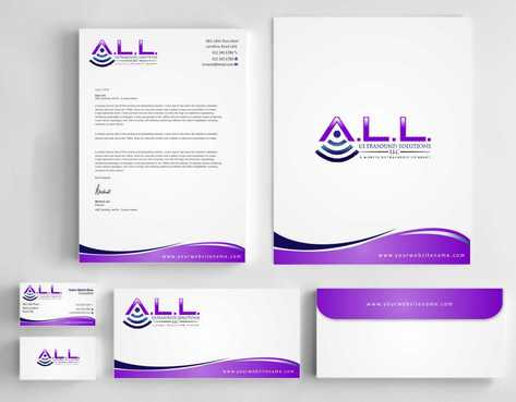 A.L.L. Ultrasound Solutions LLC:  A mobile ultrasound company Business Cards and Stationery  Draft # 297 by Dawson