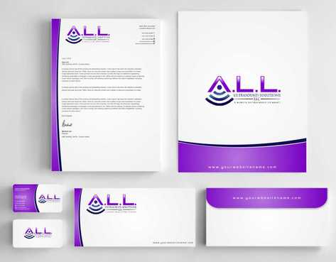 A.L.L. Ultrasound Solutions LLC:  A mobile ultrasound company Business Cards and Stationery  Draft # 303 by Dawson