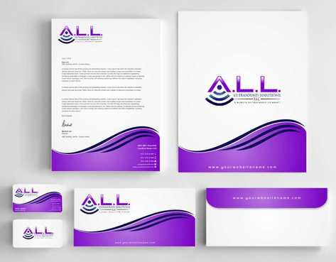 A.L.L. Ultrasound Solutions LLC:  A mobile ultrasound company Business Cards and Stationery  Draft # 304 by Dawson