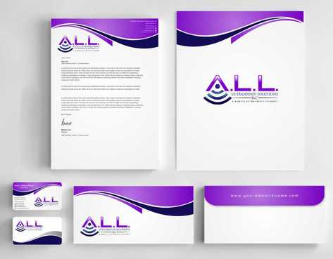 A.L.L. Ultrasound Solutions LLC:  A mobile ultrasound company Business Cards and Stationery  Draft # 307 by Dawson