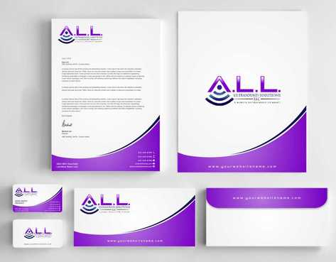 A.L.L. Ultrasound Solutions LLC:  A mobile ultrasound company Business Cards and Stationery  Draft # 310 by Dawson