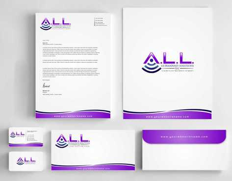 A.L.L. Ultrasound Solutions LLC:  A mobile ultrasound company Business Cards and Stationery  Draft # 315 by Dawson