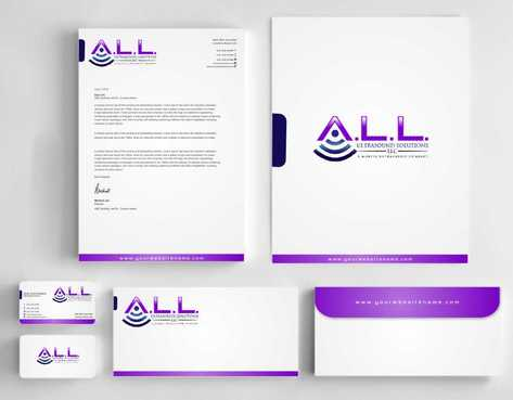 A.L.L. Ultrasound Solutions LLC:  A mobile ultrasound company Business Cards and Stationery  Draft # 320 by Dawson