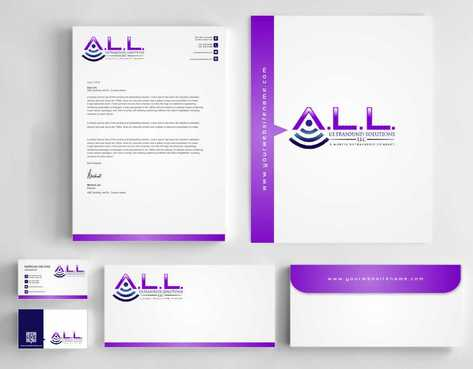 A.L.L. Ultrasound Solutions LLC:  A mobile ultrasound company Business Cards and Stationery  Draft # 323 by Dawson