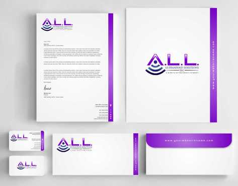A.L.L. Ultrasound Solutions LLC:  A mobile ultrasound company Business Cards and Stationery  Draft # 330 by Dawson