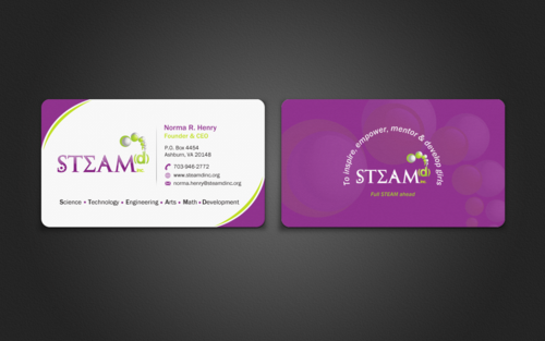STEAMd Inc.  (Science, Technology, Engineering, Arts & Math development)