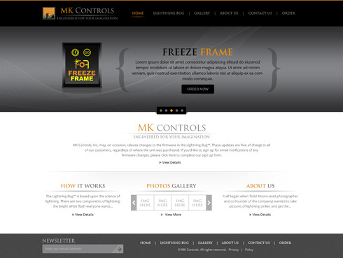 Update to our currnent site. Web Design  Draft # 57 by dwsparesh