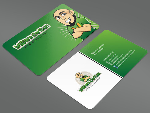 William Carlton Web Developer Business Cards and Stationery  Draft # 13 by ArtworksKingdom