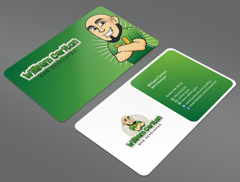 William Carlton Web Developer Business Cards and Stationery  Draft # 14 by ArtworksKingdom