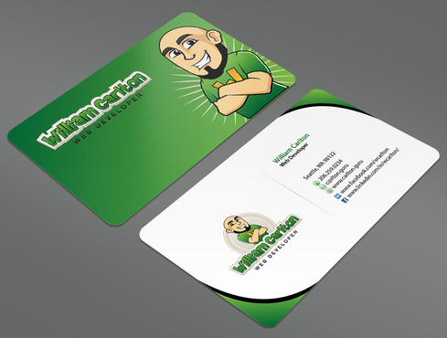 William Carlton Web Developer Business Cards and Stationery  Draft # 25 by ArtworksKingdom