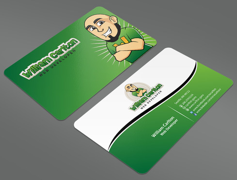 William Carlton Web Developer Business Cards and Stationery  Draft # 28 by ArtworksKingdom