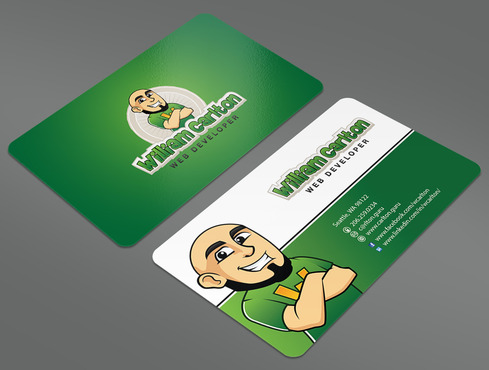 William Carlton Web Developer Business Cards and Stationery  Draft # 47 by ArtworksKingdom
