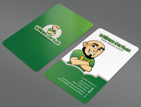 William Carlton Web Developer Business Cards and Stationery  Draft # 49 by ArtworksKingdom