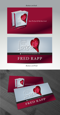You Are Created To Be Loved Business Cards and Stationery Winning Design by pivotal