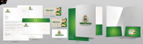 William Carlton Web Developer Business Cards and Stationery  Draft # 132 by einsanimation