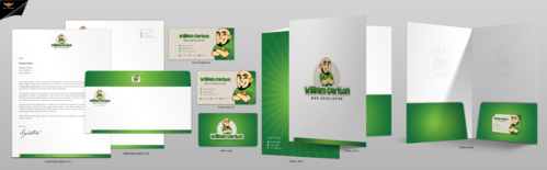 William Carlton Web Developer Business Cards and Stationery  Draft # 136 by einsanimation