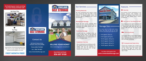 Very simple all the information needed is included Marketing collateral Winning Design by pivotal