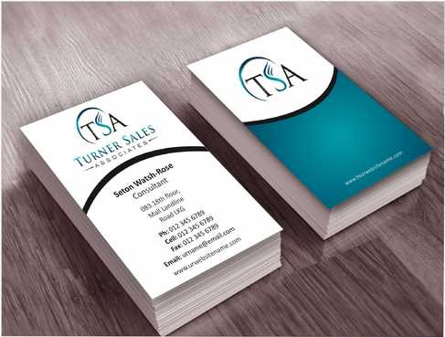 TSA Business Card Business Cards and Stationery  Draft # 140 by Dawson