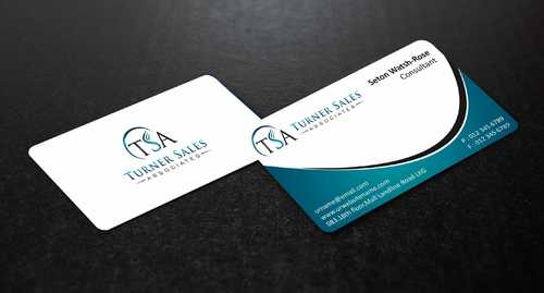 TSA Business Card Business Cards and Stationery  Draft # 142 by Dawson