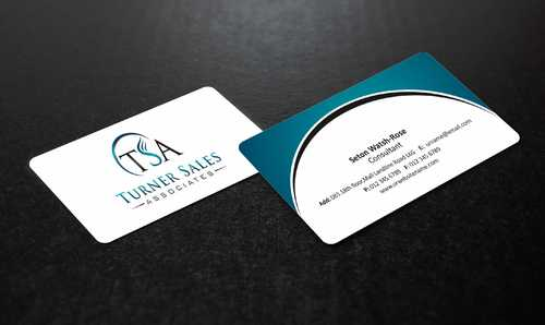 TSA Business Card Business Cards and Stationery  Draft # 143 by Dawson