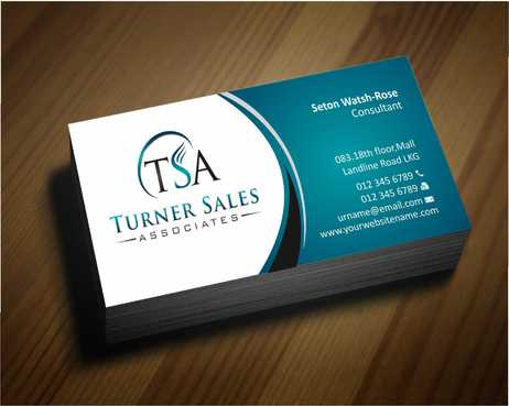 TSA Business Card Business Cards and Stationery  Draft # 145 by Dawson