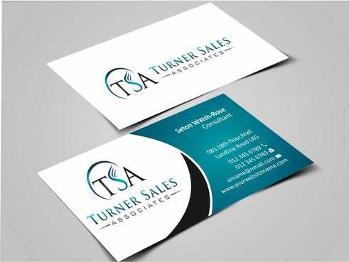 TSA Business Card Business Cards and Stationery  Draft # 146 by Dawson