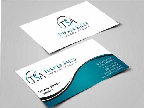 TSA Business Card Business Cards and Stationery  Draft # 147 by Dawson