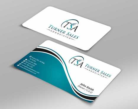 TSA Business Card Business Cards and Stationery  Draft # 150 by Dawson