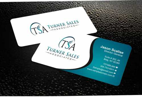 TSA Business Card Business Cards and Stationery  Draft # 151 by Dawson