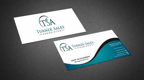 TSA Business Card Business Cards and Stationery  Draft # 152 by Dawson