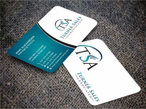 TSA Business Card Business Cards and Stationery  Draft # 154 by Dawson