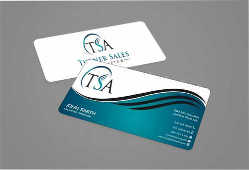 TSA Business Card Business Cards and Stationery  Draft # 155 by Dawson