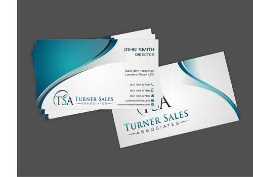 TSA Business Card Business Cards and Stationery  Draft # 156 by Dawson