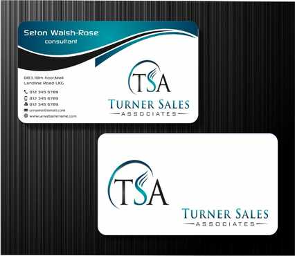 TSA Business Card Business Cards and Stationery  Draft # 157 by Dawson