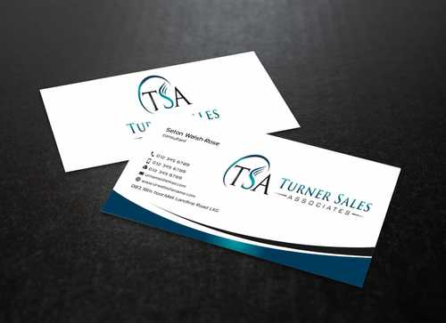 TSA Business Card Business Cards and Stationery  Draft # 158 by Dawson