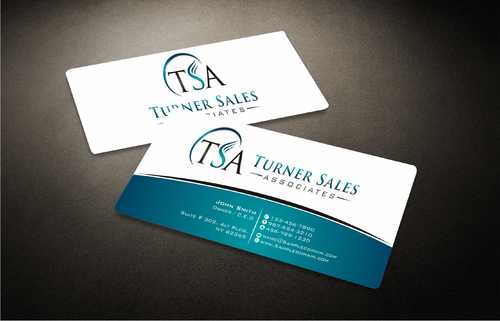 TSA Business Card Business Cards and Stationery  Draft # 160 by Dawson