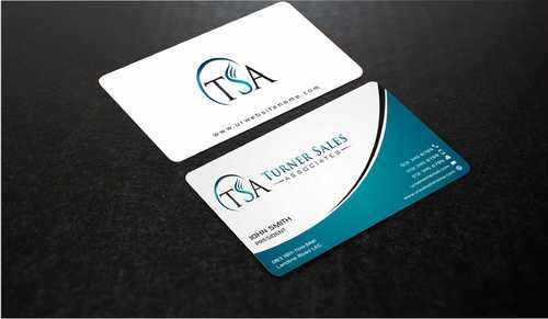 TSA Business Card Business Cards and Stationery  Draft # 161 by Dawson