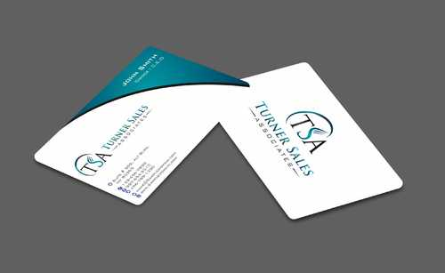 TSA Business Card Business Cards and Stationery  Draft # 162 by Dawson