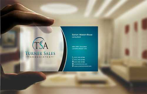 TSA Business Card Business Cards and Stationery  Draft # 163 by Dawson
