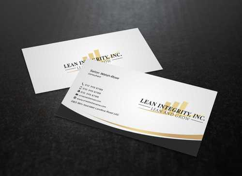Lean Integrity BC Business Cards and Stationery  Draft # 188 by Dawson