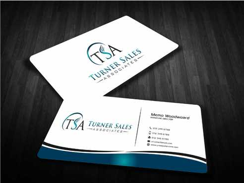 TSA Business Card Business Cards and Stationery  Draft # 166 by Dawson
