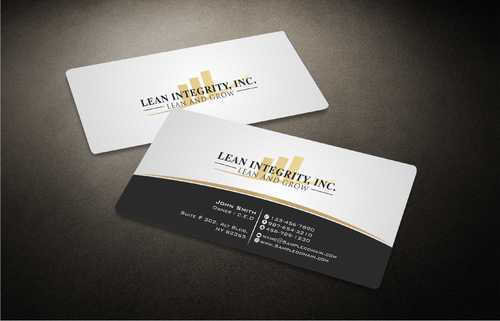 Lean Integrity BC Business Cards and Stationery  Draft # 189 by Dawson